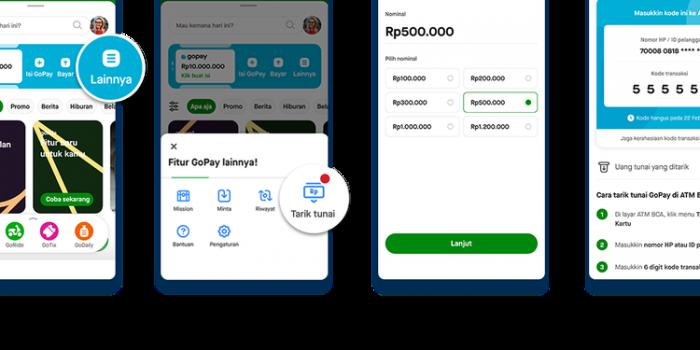 Cara Tarik Tunai Go-Pay Di ATM BCA
