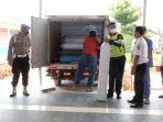 Pihak kepolisian sedang memeriksa ketersediaan tabung oksigen di RSUD Hamba Muara Bulian
